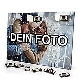 PhotoFancy - Foto Adventskalender mit eigenem Bild personalisiert - mit Sarotti Schokolade gefüllt - Größe 35,5 x 24,5 cm