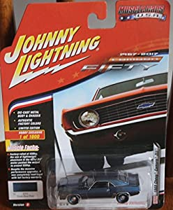 Johnny Lightning JLSP003B 1 1:64 1969 Chevy Camaro (50th Anniv), Color Azul Oscuro