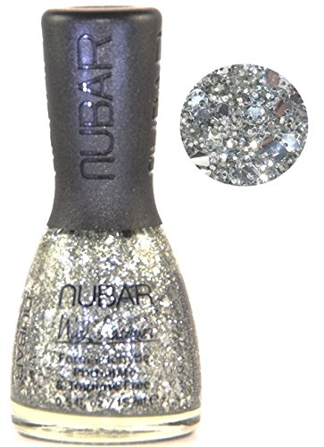NUBAR - Vernis à Ongles Collection All That Glitter Is Nubar - SILVER BULLION