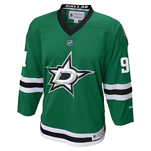 Tyler Sequin Dallas Stars Youth Bambino NHL Reebok Black Replica Jersey Maglia