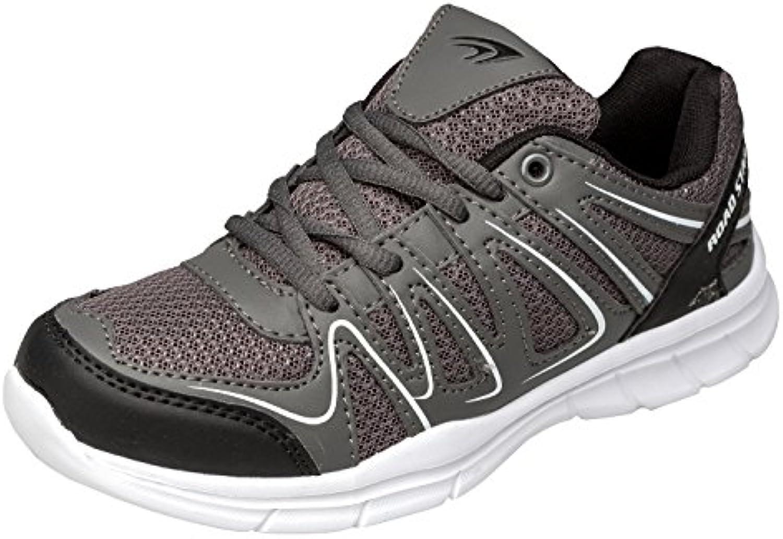 gibra Sneaker Sportschuhe Art. 2037 Sehr Leicht und Bequem Grau Gr. 36-41