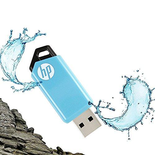 HP v150w 32GB USB 2.0 flash Drive (Blue)