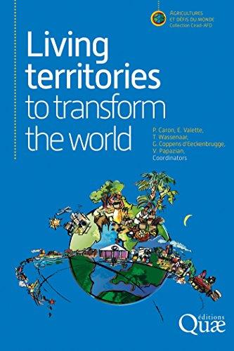 Couverture du livre Living territories to transform the world