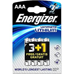 Energizer Ultimate L92 AAA Batterie au Lithium (Lot de 8)