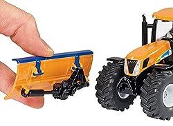siku 2940 traktor mit r umschild und salzstreuer. Black Bedroom Furniture Sets. Home Design Ideas