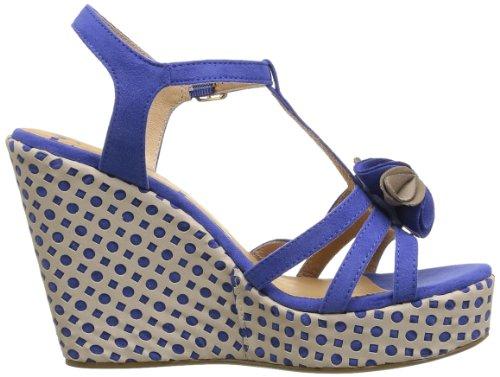 Elle Sevres Damen Sandalen Blau - Bleu (Bleu Royal) Ynsi6Hg6Yy