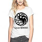 Juego de Tronos dragón negro camiseta para mujer