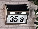 BUVTEC Solar Hausnummer