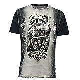 West Coast Choppers T-Shirt Neighborhood Watch, Größe:XL, Farbe:grey