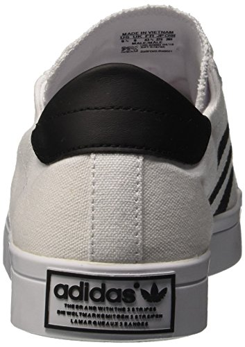 adidas Courtvantage, Chaussures de Basketball Homme, Bleu, 38 EU Multicolore (Ftwwht/Cblack/Metsil)