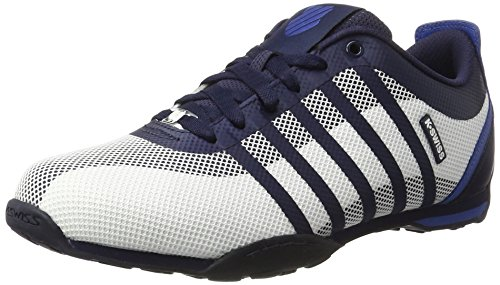 K-Swiss Arvee 1.5 Tech, Sneakers Basses Homme Multicolore (WHITE/NAVY/BRUNNER BLUE)