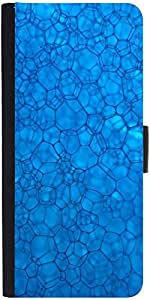 Snoogg System Blue Designer Protective Phone Flip Case Cover For Obi Worldphone Sf1