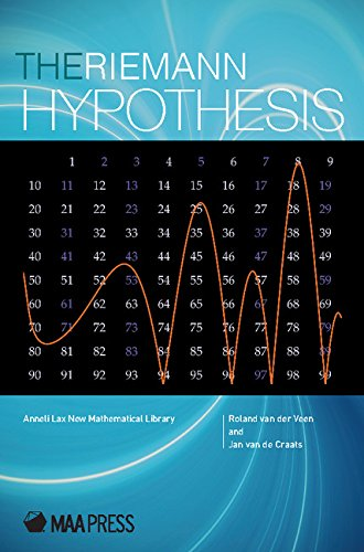 The Riemann Hypothesis: A Million Dollar Problem (Anneli Lax New Mathematical Library)