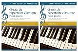 Oeuvres du répertoire classique pour piano - Coffret 2 volumes
