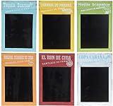 Nostalgische Holz-Kreide-Tafel - Schultafel - Kreidetafel - Memoboard - Notiztafel - Wandtafel - Küchentafel - Antik Look - Memotafel, Farbe:Weiß