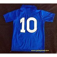 3f433a9a478d6 Maradona 10 Napoli Home Retro Soccer Jersey 1997 (Blue