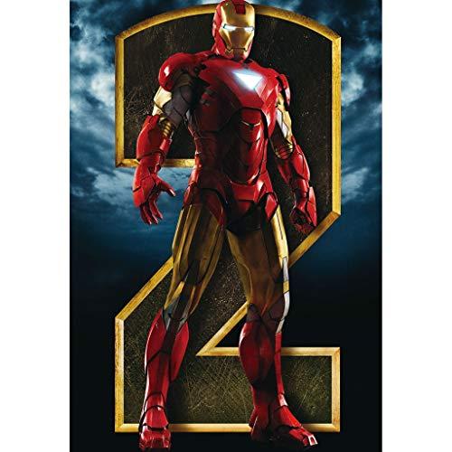 WYF Iron Man Holzpuzzles für Kleinkinder Puzzles, 3 Jahre Alten Jungen Mädchen Geschenke, Boden Puzzles für Kinder im Alter von 3-5 P604 (Color : A, Size : 1000pc)