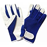 CINAGRO- Pure Leather Gloves for Gardening | Heavy Duty, Reusable & Sweat Free Garden Gloves (1 Pair)