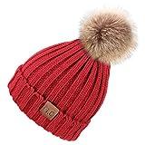 d5d8003a7 VAMEI 1pcs Sombreros de Invierno para bebé Gorros de Punto Gorro de  Invierno para bebé