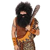Steinzeit Keule Steinzeitkeule Urzeitkeule Neandertaler Höhlenmensch Urzeit Knüppel Wikingerkeule Wikinger Kostüm Zubehör