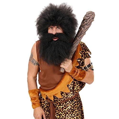 nzeitkeule Urzeitkeule Neandertaler Höhlenmensch Urzeit Knüppel Wikingerkeule Wikinger Kostüm Zubehör (Höhlenmenschen Steinzeit)