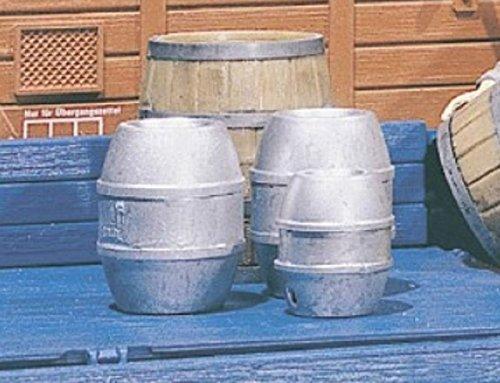 Pola 333202-4cerveza barriles, accesorios para el diseño de ferrocarril, modelo