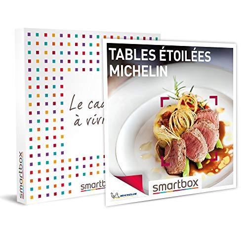 SMARTBOX - Coffret cadeau - Tables étoilées MICHELIN - idée cadeau - Un dîner...