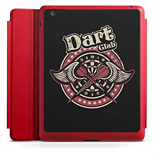Apple iPad 2 Smart Case Hülle Tasche mit Ständer Smart Cover Dart Sport Darts (Smart Darts)