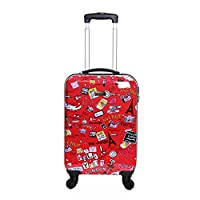 Karabar Cabin Approved Hard Suitcase 55 x 35 x 20 cm (All parts included)