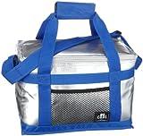 Be Cool Kühltasche - Kühlbox, silber/blau 10 l