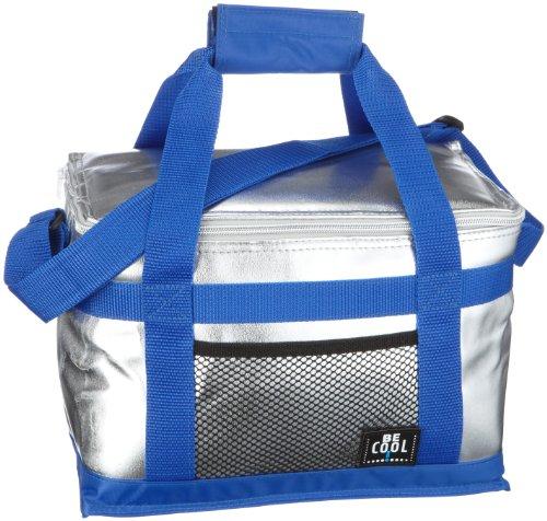 Be Cool Kühltasche – Kühlbox, silber/blau 10 l… | 04260046841661