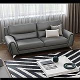 Ledercouch 2-Sitzer Ledersofa Couchgarnitur Sofagarnitur Zweisitzer Sofa Couch
