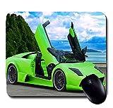 Awwsme Green Lamborghini Car With Open G...