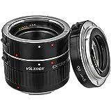 VECTROX Anneaux Intermédiaires Automatiques 12/20 / 36mm pour Macrofotographie pour Canon EOS 1200D, 600D, 1000D, 700D, 450D, 400D, 350D, 300D, 100D, 70D, 60D, 50D, 40D, 30D, 20D, 10D, 7D, 6D, Série 5D & 1D (Baïonnette En Aluminium)