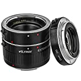 Viltrox Automatic Extension Rings for Macro Photography 12 / 20 / 36 mm for Canon EOS 1200D 1100D 1000D 700D 650D 600D 550D 500D 450D 400D 350D 300D 100D 70D 60D 50D 40D 30D 20D 10D 7D 6DI 5D Series 1D Series Aluminium Bayonet