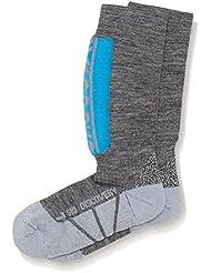 X-Socks Discovery - Calcetines de esquí para niños Varios colores Light Grey/Azure Talla:24/26