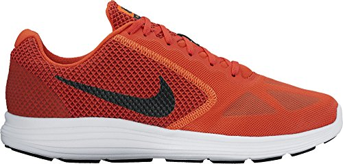 Nike, Uomo Maglietta a maniche corte Sublimated Arancione (Max Orange/Black/Dark Cayenne)