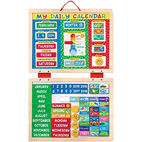 Melissa & Doug - My First Daily Calendario Magnetico