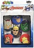 crocs Marvel's Avengers Heroes 6-Pack Schuhanhänger, Mehrfarbig (-), Einheitsgröße