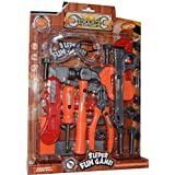 Vibgyor Vibes™ Tool Set, Tool Kit For Kids And Toddlers With 18 Tools. Contents And Colour May Vary From Images