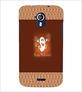 PrintDhaba Funny Image D-4566 Back Case Cover for MICROMAX A116 CANVAS HD (Multi-Coloured)