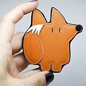 *Orange Fox* – Fuchs Brosche | Pin | Anstecker | Brooch | Badge
