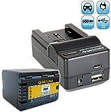 Bundlestar Akku Ladegerät 4 in 1 inklusive Ladeschale für Panasonic VW VBK360 E + PATONA Akku Ersatzakku für Panasonic VW VBK360 E K passend zu Panasonic HDC HS60 HS80 SD40 SD60 SD66 SD80 SD90 SD99 SDX1 TM40 TM55 TM60 TM80 TM90 -- SDR H85 H95 H100 H101 S45 S50 S70 S71 T50 T55 T70 T71 T76 -- HC V707 V500 V100 V10 -- NEUHEIT mit Micro USB-Anschluss (ACHTUNG: NICHT FÜR DIE MODELLE MIT AKKU VBT190 VBT380 !!)