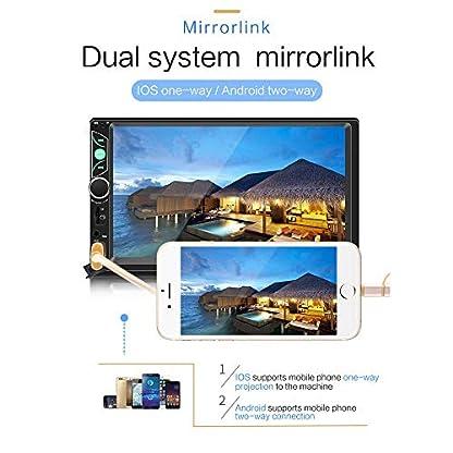 Double-Din-Auto-Stereo-Radio-7-HD-Touchscreen-Auto-Audio-Bluetooth-FM-Radio-USB-Auto-Audio-Video-Player-Untersttzung-Telefon-Spiegel-Link-Auto-Backup-Kamera-und-Lenkradsteuerung