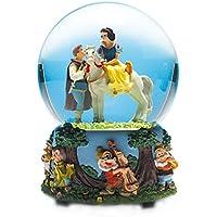 Musicbox World Snow White and The 7 Dwarfs Snow Globe, Multi-Colour