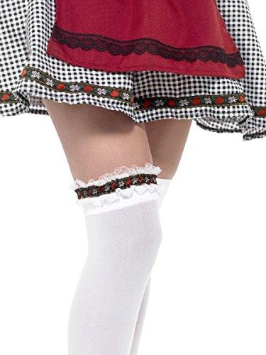 Fancy Dress Four Less Männliche Weibliche Bayerische Oktoberfest Bier Festival Deutscher Alpen Hirsch Kostüm Zubehör inkl. Hüte Schnurrbart Strumpfbänder & Perücken