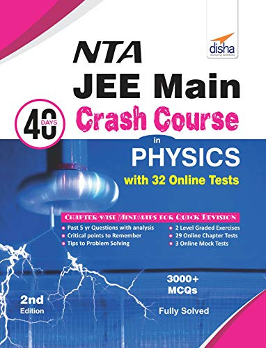 NTA JEE Main 40 Days Crash Course in Physics with 32 Online Test Series