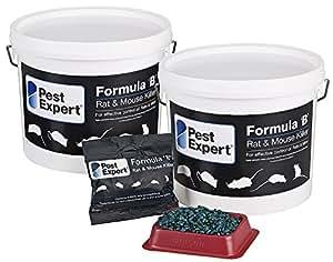 Pest Expert Formula B Souricide et raticide 3Kg