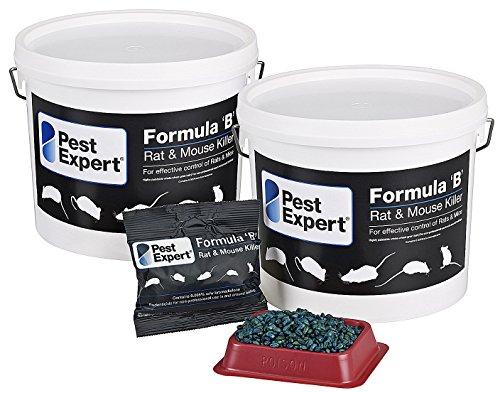 Poison souricide 3Kg Formula B de Pest Expert