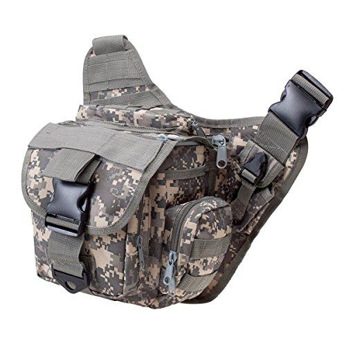 Imagen de s zone 600d poliéster molle del hombro táctico de la correa bolso militar empuje la correa del paquete de la bolsa de viaje